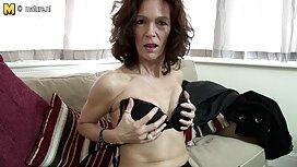 Brandi Sexy vieille femme cochonne en lingerie noire